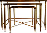 One Kings Lane Vintage French Nesting Tables, S/3