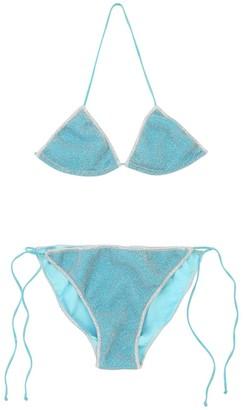 Oseree Lycra & Lurex Bikini