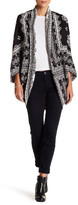 Romeo & Juliet Couture Knit Open Poncho Cardigan