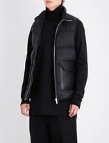Rick Owens Quilted crepe gilet