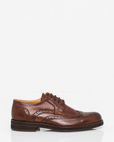 Le Château Italian-Made Leather Wingtip Derby