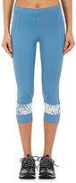 adidas x Stella McCartney Women's Capri Leggings-BLUE