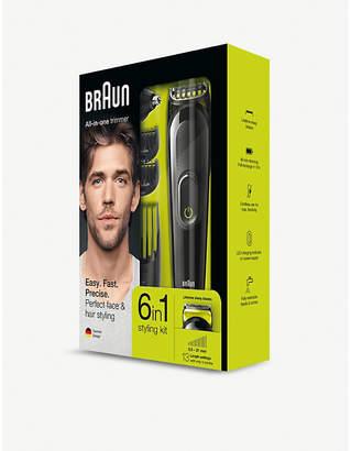 Braun 6-in-1 Cordless Multi grooming kit