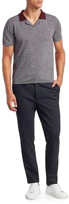 Nominee Johnny Collar Merino Wool Polo Shirt