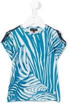 Roberto Cavalli patterned T-shirt - kids - Cotton/Spandex/Elastane - 4 yrs