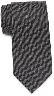 Tommy Hilfiger Herringbone Woven Tie