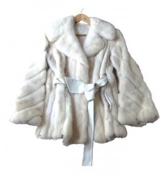 Schumacher Ecru Exotic leathers Coat for Women