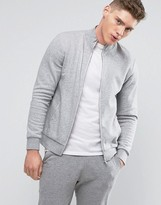 New Look Track Jacket In Grey