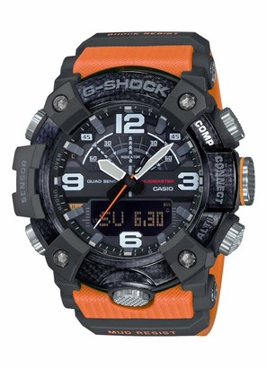 Casio Mens Analogue-Digital Quartz Watch with Plastic Strap GG-B100-1A9ER