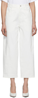 MM6 MAISON MARGIELA Off-White Five-Pocket Lounge Pants