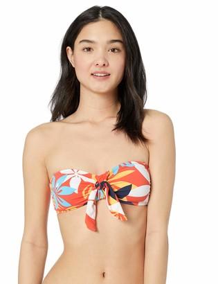 Hobie Women's Bandeau Hipster Bikini Swimsuit Top