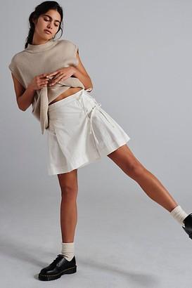 Free People Acing It Mini Skirt