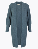 Per Una UsMarks and Spencer Textured Relaxed Fit Longline Cardigan