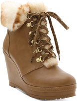 Nanette Lepore Nanette by Malee Wedge Booties