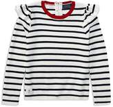 Ralph Lauren Girls' Striped Nautical-Themed Top - Little Kid
