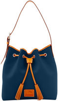 Dooney & Bourke Patterson Leather Large Aimee Drawstring