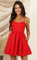 Showpo You Got Nothing To Prove Dress in red - 8 (S) Dresses