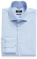 BOSS Regular Fit Dot Dress Shirt