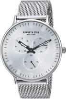 Kenneth Cole New York Men's 'Sport' Quartz Stainless Steel Dress Watch, Color:-Toned (Model: KC14946013)