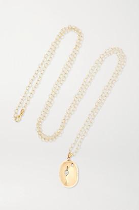 Loquet + Chantal Conrad Lumiere 14-karat Gold Diamond Necklace - one size