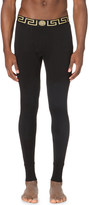 Versace Iconic stretch-cotton long john