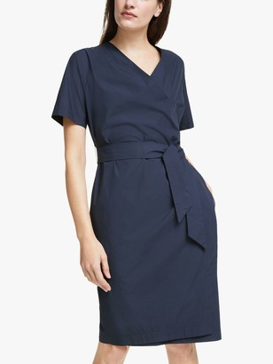 Max Mara Weekend Felino Belted Wrap Dress, Midnight Blue