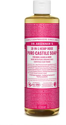Dr. Bronner's Organic Rose Castile Liquid Soap 473Ml