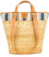 Il Bisonte straw handle bag
