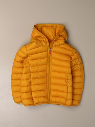 Save The Duck Gigay Down Jacket In Light Nylon With Hood