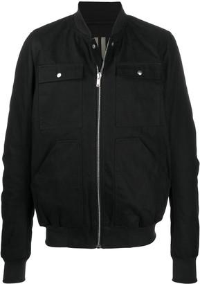 Rick Owens Chest-Pocket Bomber Jacket