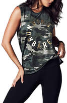 Running Bare easy rider crew neck muscle tank