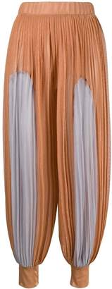 Couture Atu Body pleated harem trousers