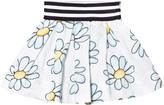MonnaLisa Blue Flower Print Skirt