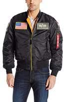 Alpha Industries Men's MA-1 Flex Flight Bomber Jacket