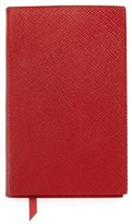 Smythson Panama Lambskin Notebook, Red
