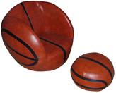 Tadpoles Vinyl Basketball Chair & Ottoman Set