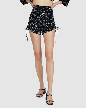 Don't Ask Amanda Zuri Gather Mini Shorts