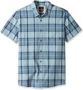 Quiksilver Men's Everyday Check Short Sleeve Woven Top
