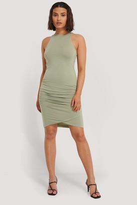 NA-KD Rouched Sleeveless Dress