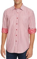 Robert Graham Benedetto Striped Classic Fit Button-Down Shirt - 100% Exclusive