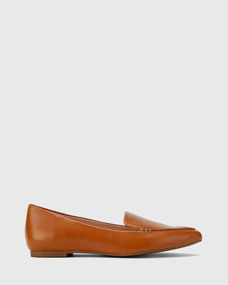 Wittner - Women's Brown Loafers - Packham Pointed Toe Loafers - Size One Size, 39 at The Iconic