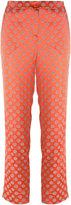 Etro cropped jacquard trousers - women - Polyamide/Spandex/Elastane/Viscose - 42