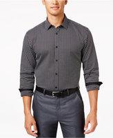 Alfani Men's Big and Tall Classic Fit Long-Sleeve Box Print Shirt, Only at Macy's