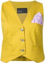 N Duo patch waistcoat
