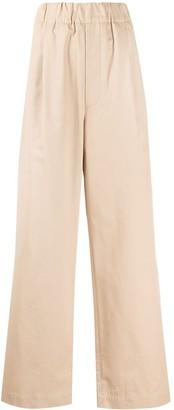 Jejia High-Rise Wide-Leg Trousers