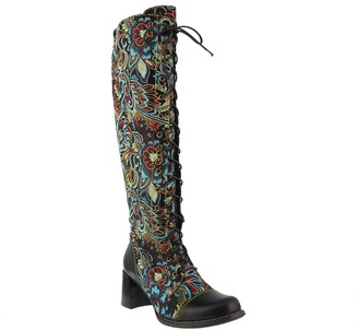 Spring Step L'Artiste by Leather and Textile Boots - Rarity