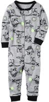 Carter's Baby Boy Print One-Piece Pajamas