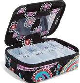 Vera Bradley Gorgeous Travel Pill Case in Parisian Paisley
