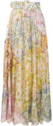 Zimmermann Super Eight maxi skirt