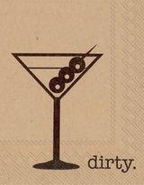 Ihr Dirty Cocktail Napkin